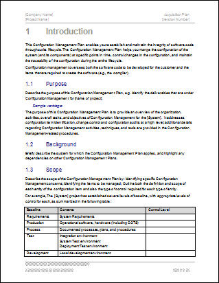 document management policy template - configuration guides how to document parameters