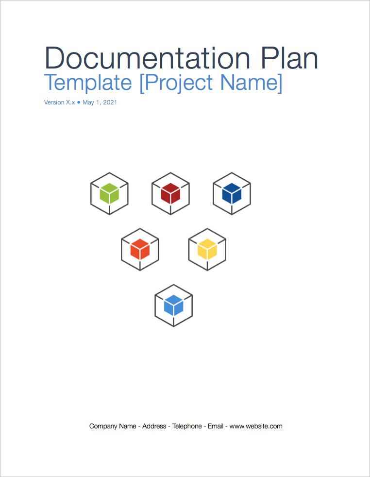 Documentation_Plan_template_coverpage